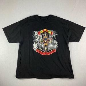 Vintage Style Guns N Roses T Shirt Band Tee Rock